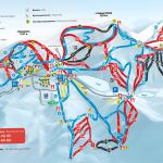 карта трас в Буковеле